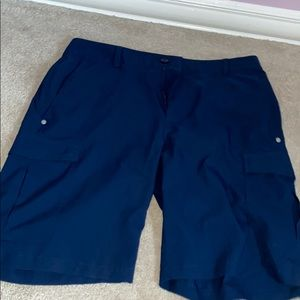 Navy under armour shorts